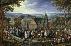 Boda Campestre, de Jan Brueghel