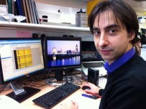 Lorenzo Melchor lleva casi cinco años trabajando en el Institute for Cancer Research de Londres / SRUK