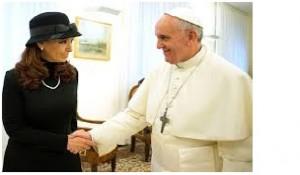 papa y cristina