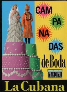 Campanadas de boda, de La Cubana