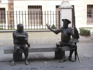 Don Quijote y Sancho Panza