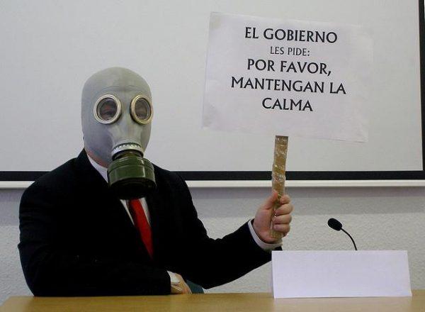 El gobierno pide calma