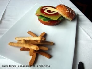 Era Lucana de Vielha. Choco burger