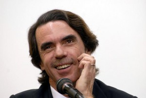 el socialdemócrata José María Aznar