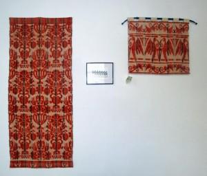 Muestras de tejidos realizados en el Telar de Triste. Foto: Eugenio Mateo
