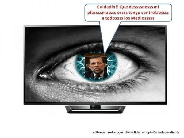 Rajoy 'el plasma'