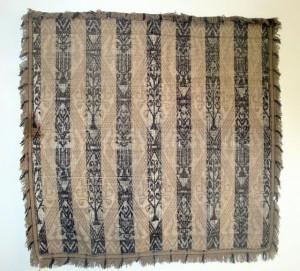 Muestra de tejido realizado en el Telar de Triste. Foto: Eugenio Mateo