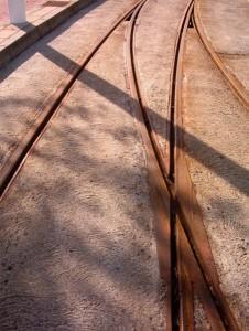 cruce de vías