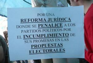 democracia y promesas electorales