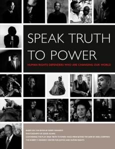 Speak Truth to Power