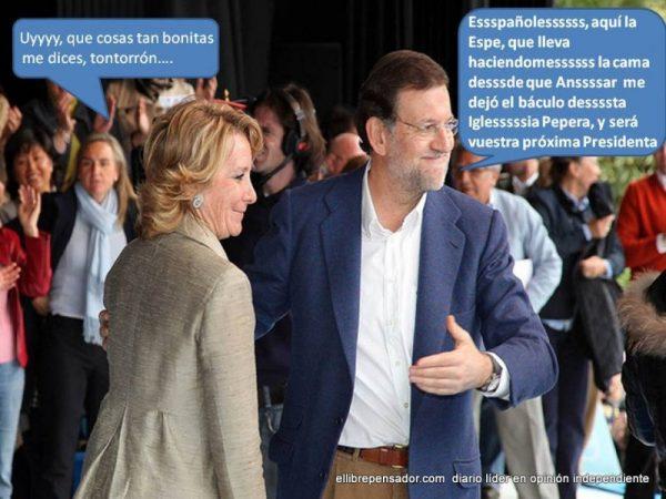 Retoques: El Librepensador. Foto original: PP Madrid