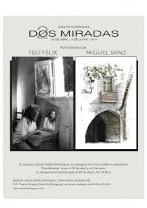 Dos fotógrafos, dos miradas. Teo Félix y Miguel Sanz
