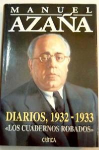 Diarios, 1932-1933 (Los cuadernos robados)
