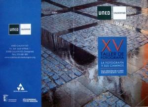 XV Taller de fotografía en la UNED Calatayud