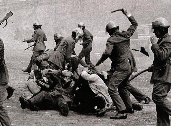 Policía armada española. Los grises
