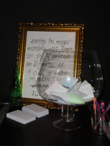 Copa con deseos Gin- tonic. Fotografía realizada por Marta Oria