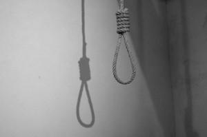 Horca. Pena de muerte. Suicidio