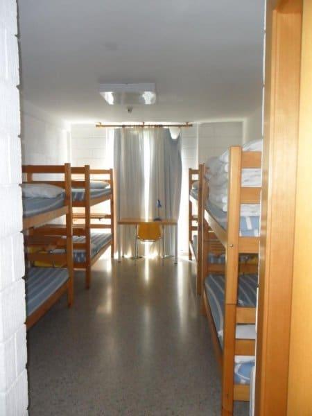 Habitaciones para los alumnos. Escuela Internacional de la Rosacruz Áurea - Lectorium Rosicrucianum