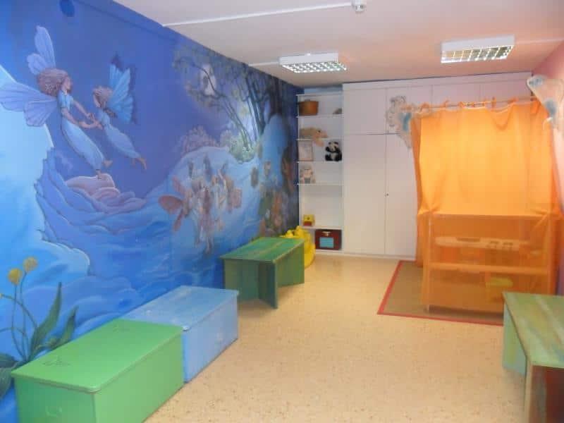 Cuarto de juegos para los niños. Escuela Internacional de la Rosacruz Áurea - Lectorium Rosicrucianum
