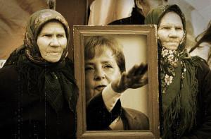 Angela Merkel Reichskanzlerin. Foto: Banannas