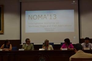 Mesa de Apertura del Congreso NOMA'13