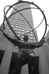 Atlas. Midtown Manhattan Foto: Esparta