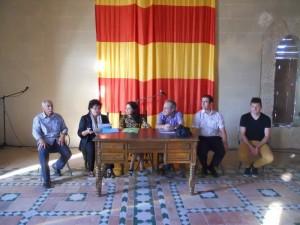 Acto de Clausura en el Castillo de Albalate