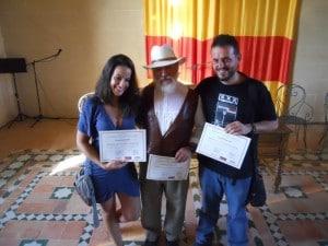 María Jordano. José Antonio Barrios y Joaquín Macipe