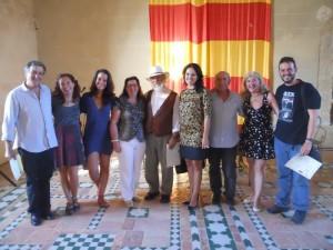 Participantes en el Simposio con la Directora de la DGA