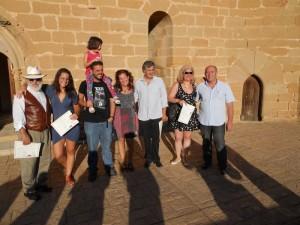 Participantes en el IX Simposio en el Castillo de Albalate