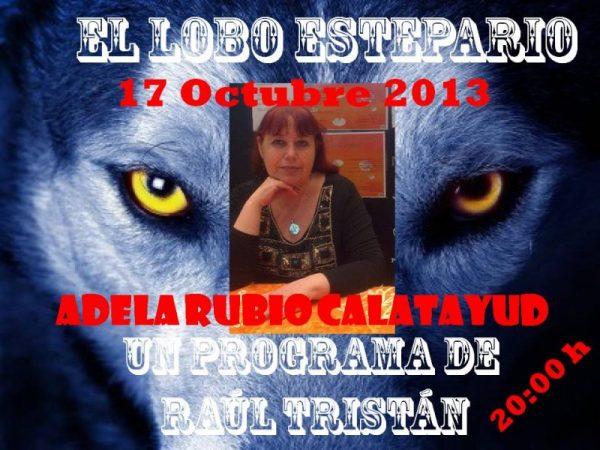 Adela Rubio Calatayud, historiadora 'y más', en El Lobo Estepario