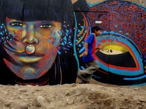 En la Comunidad Shipibo de Cantagallo. Lima - Perú. Foto: . GUACHE via photopin cc