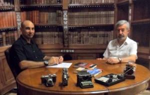 El Lobo Estepario: Raúl Tristán entrevista a Javier Aguirre, escritor