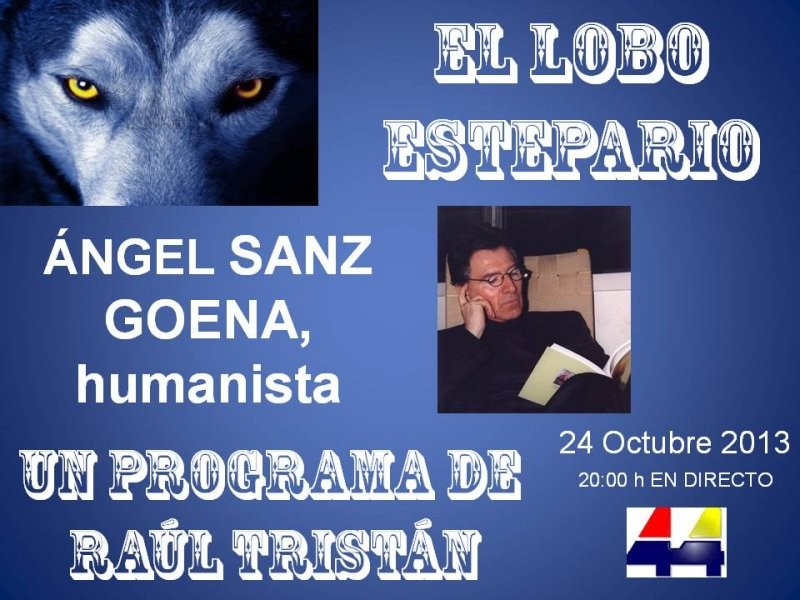 Ángel Sanz Goena, en El Lobo Estepario