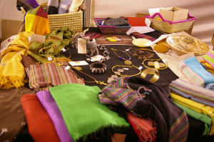 Productos de artesanía de Fair Trade Egypt en la Feria de Comercio Justo de Toledo. Foto: gaelx