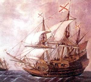 El Galeón de Manila en el siglo XVIII Foto: todoababor.es
