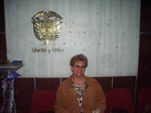 La poeta colombiana Sandy Gaviota, miembro del jurado de este concurso