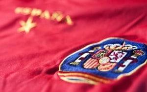La selección española luce la estrella de campeona del mundo desde 2010. / Anieto2K