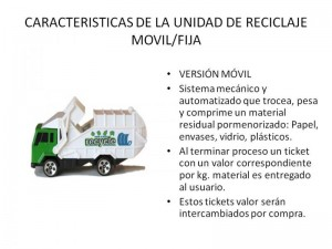 Unidad de Reciclaje Móvil