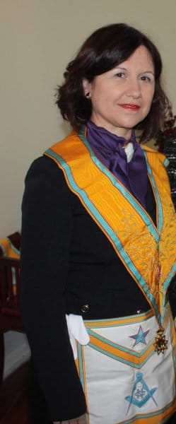 Ana Valet Felices, masona