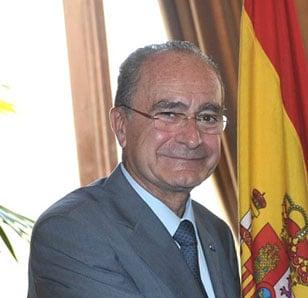 Francisco De la Torre Prados, alcalde de Málaga
