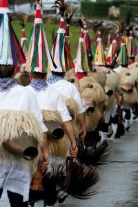 Carnavales en Navarra. Ituren y Zubieta.