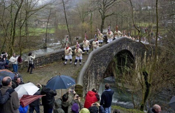 Carnavales en Navarra Ituren y Zubieta