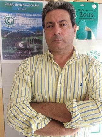 Javier Fernández Burgada, creador de la Unidad de Reciclaje Móvil