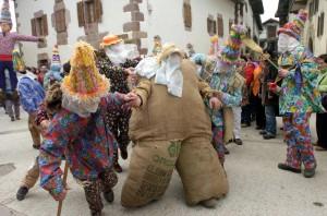 Carnavales en Navarra. Lantz