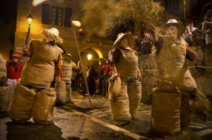 Carnavales en Navarra. Lesaka