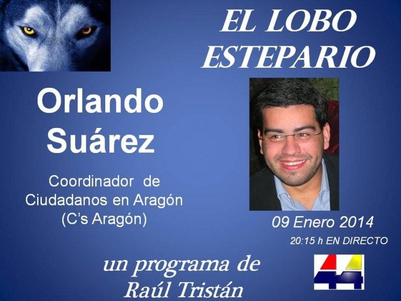 Orlando Suárez,  Coordinador de Ciudadanos en Aragón (C's Aragón)