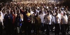 Marcha de las antorchas en La Habana 28/01/14
