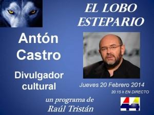 Antón Castro en El Lobo Estepario con Raúl Tristán