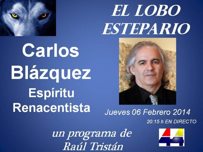 Carlos Bláquez, espíritu renacentista